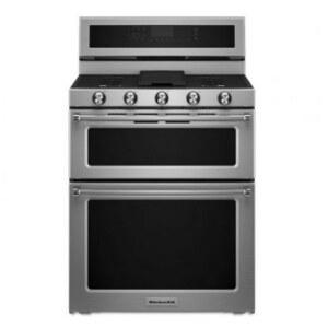 KitchenAid KFGD500ESS 5 Burner Gas Range