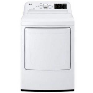 LG DLE7100W 7.3 Cu. Ft. Electric Dryer