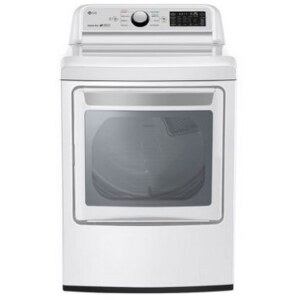 LG DLE7300WE 7.3 Cu. Ft. Electric Dryer