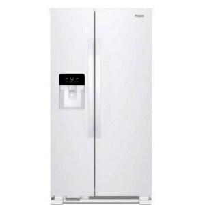 Whirlpool WRS321SDHW 33 Inch Refrigerator